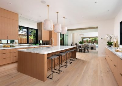 Arboretum House kitchen