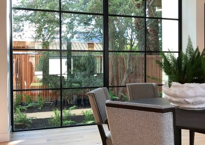 Arboretum House windows